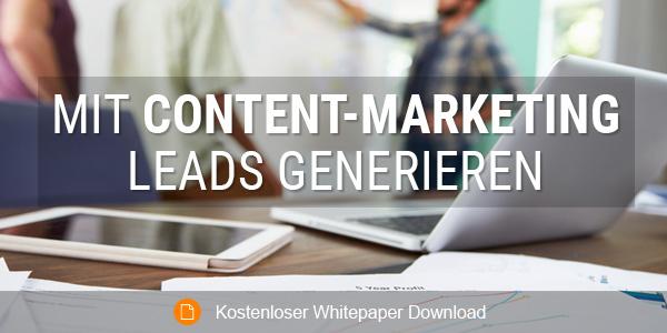 Mit Content-Marketing Leads generieren