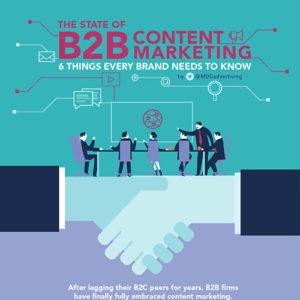 Vorschau Infografik B2B Content Marketing