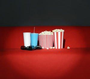 Popcorn im Kinosaal