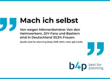 Was die Deutschen bewegt: 10 überraschende Fakten aus der Markt-Media-Studie b4p 2018