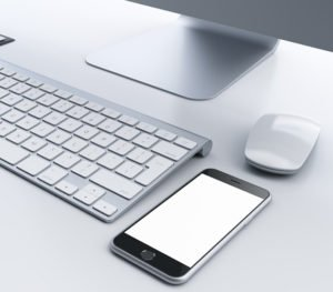 Smartphone und Mac