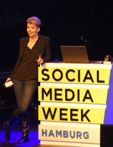 Deanna Zandt at SOCIAL MEDIA WEEK HAMBURG