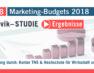 bvik-Studie: Marketing-Etats von B2BUnternehmen sinken – große Unternehmen investieren mehr in digitale Kanäle