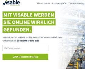 """Visable ist Europas B2B-Champion – Neues Dach für """"Wer liefert was"""", EUROPAGES und Gebraucht.de"""