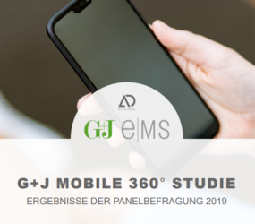 Generation Smartphone: G+J e MS Mobile 360° Studie 2019 mit neuen Fakten und Trends rund um die mobile Internetnutzung
