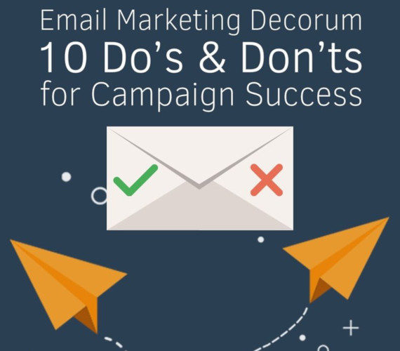 10 Do's and Don'ts im E-Mail-Marketing